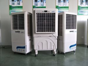 Small Portable Air Cooler with Large Airflow 5000cbm/H pictures & photos