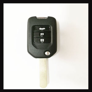 Replacement 3 Button Flip Folding Keyless Entry Remote Car Key Fob with Blade pictures & photos