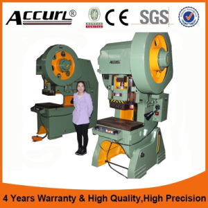 50ton Eccentric Punching Press Machine for Punching Hole with Eccentric pictures & photos