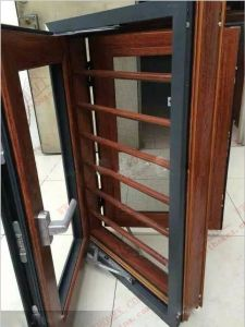 Newly Aluminium Double Casement Window with Burgular-Proof (BHA-CW54) pictures & photos