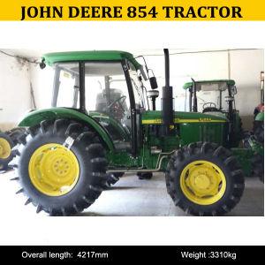 John Deere Tractor Backhoe 854, John Deere 854 4X4 Tractors, John Deere 854 Cab Tractor pictures & photos