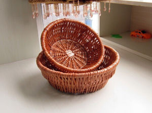 Eco-Friendly Handmade Natural Willow Flower Basket (BC-ST1216) pictures & photos