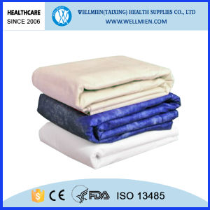 Disposable Nonwoven Patient Warming Blanket Filled with Paper Blanket pictures & photos