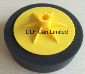 Polishing Sponge with Backing Plate (Black) pictures & photos
