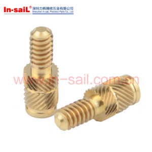 Light Alloy Brass Threaded Stud in China Manufacturer pictures & photos