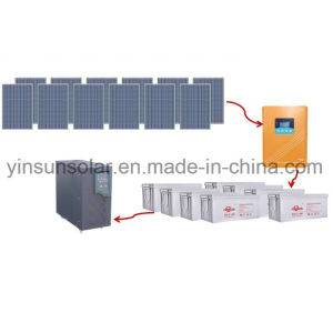 Factory Direct Sale a Set 5000W off-Grid Solar Panel System pictures & photos
