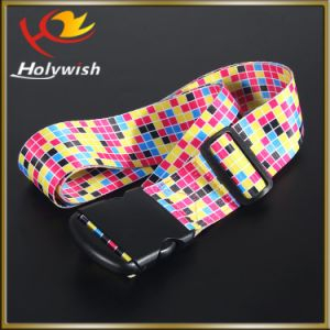 Wholesale Custom Fabric Printed Ribbon Luggage Strap pictures & photos
