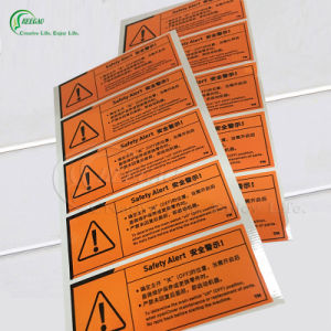 High Quality Stickers for Safety Alert (KG-PT030)