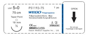 Wego Surgical Suture of Good Quality Polypropylene pictures & photos