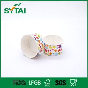Custom Printed Disposable Single Wall Ice Cream Paper Cups pictures & photos