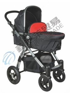 En1888 Approved High-View Big and Comfortable Baby Stroller