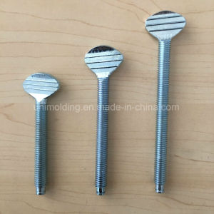 "Wing Screws/White Zinc Plated Carbon Steel/Stainless Steel Wing Screw5.25"". 3.15""3.5""/OEM pictures & photos"