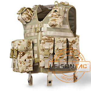 Camo Tactical Vest Comes with a Pocket for Water Bladder pictures & photos