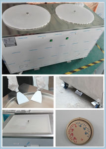 Icm-980 Rolled Ice Cream Thai Ice Cream Machine 2 Pan pictures & photos