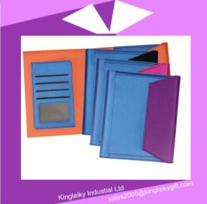 Creative PU Bound Diary for Promotional Gift pictures & photos