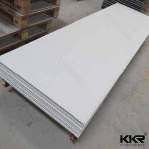 Building Material Artificial Marble White 12mm Acrylic Solid Surface (M1705261) pictures & photos