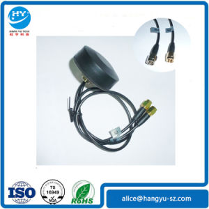 Screw Mount Mini GPS GSM Combo Antenna with 25cm Cable to SMA Plug pictures & photos