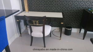 Hotel Writing Table with Leather Top pictures & photos