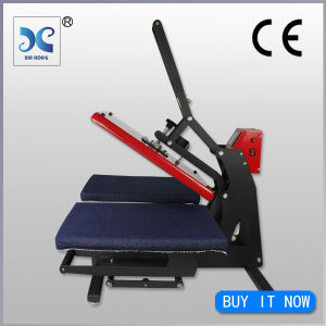 Double Stations High Pressure Tshirt Heat Transfer Machine HP3804C-N pictures & photos