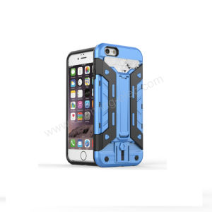iPhone 7 Wallet Card Slot Hybrid Transformers Phone Case pictures & photos
