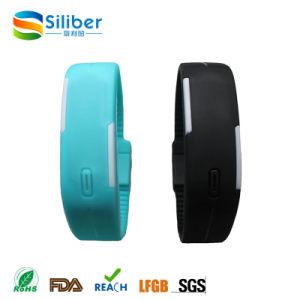 Promotional Customized Logo LED Silicone Watch