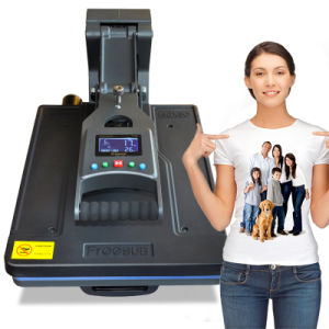 Hydraulic Drawer Type T-Shirt Sublimation Heat Transfer Printing Machine (ST-4050) pictures & photos