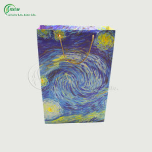 Colorful Logo Printing Paper Shopping Bag (KG-PB058) pictures & photos