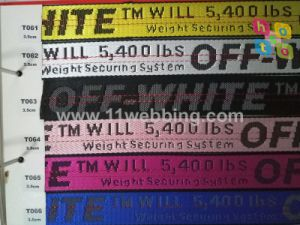 Garment Clothing Accessories Fashion Jacquard Webbing Spot Goods to Sale pictures & photos