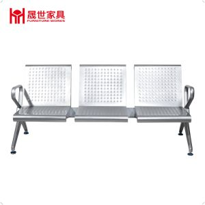China Price Public 3-Seater Airport Metal Waiting Chair with Armrest pictures & photos