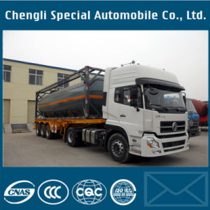 Clw 20/30 /40/45FT ISO Tank Container Semi Trailer pictures & photos