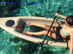Single Transparent Polycarbonate Fishing Kayak pictures & photos