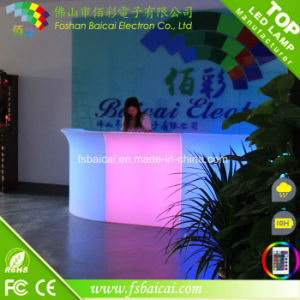 Event Furniture Modern Bar Counter LED Bar Table pictures & photos