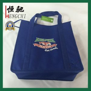 Non Woven Insulated Lunch Food Cooler Bag for Promotion pictures & photos
