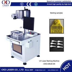 Competitive Quality Animal Ear Tag Laser Marking Machine pictures & photos