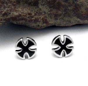 Black Ear Stud Titanium Steel Men Fashion Accessories Punk Style pictures & photos