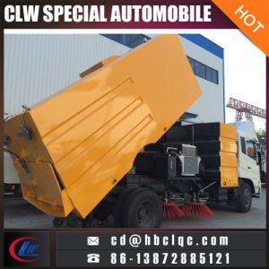 Good Quality 9000L Road Vacuum Cleaning Sweeper Truck pictures & photos