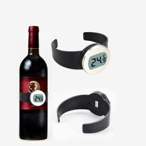 Small Digital Wine Thermometer for Wine Bottle pictures & photos