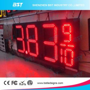 "24 "" Red Color Outdoor Waterproof LED Petrol Price Display pictures & photos"