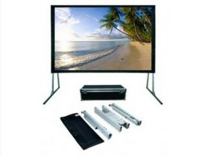 Cheap Mobile Projection Fast Folding Screen, Outdoor Screen pictures & photos