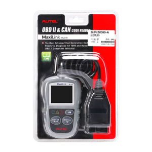 Auto Diagnostic Code Reader Original Autel Maxilink Ml319 OBD2 Code Scan Tool Update Online pictures & photos