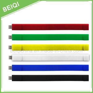 Promotional Custom Silicone Bracelet USB Flash Driver/USB Flash Stick pictures & photos