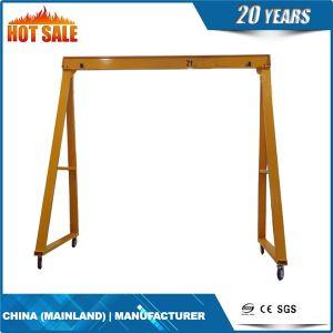 Mobile Gantry Crane, Ruber Tyre Gantry Crane 20 Ton pictures & photos