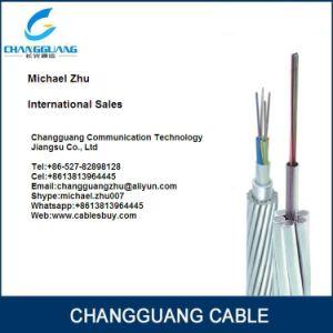 G652D Fiber Aluminium Alloy Rod 24 Core Fiber Cable Opgw pictures & photos