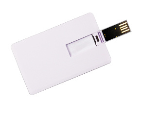 USB2.0 Pen Drive Credit Card Shape Logo Customized pictures & photos