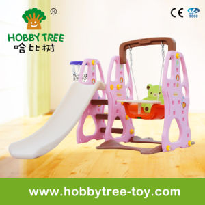 2017 Cheap Kids Play Toys for 1-6 Years with Slide and Swing (HBS17024C) pictures & photos