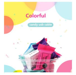 Retail Candy Box Mini 20cm Short Flat USB to Micro USB Sync Data Charger Cable for Android for iPhone pictures & photos