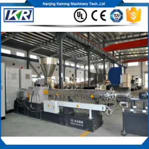 PVC Extruder for Sale/Compound Extrusion PE Masterbatch/Plastic Pellet Making Extruder Recycle Machine pictures & photos