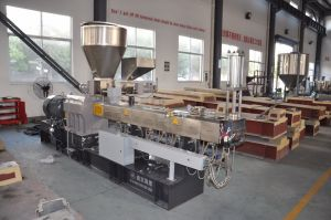 Pet Recycling Pelletizing Horizontal Water Ring Extrusion Machine Line pictures & photos