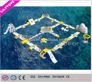 Inflatable Water Trampoline / Water Floating Island for Sale pictures & photos