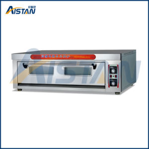 Htd-30 Stainless Steel 1 Layer -3 Trays Electric Pizza Deck Oven for Kitchen Equipment pictures & photos